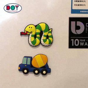 Custom Cartoon Shape Logo Soft PVC Fridge Magnets for Home Decoration