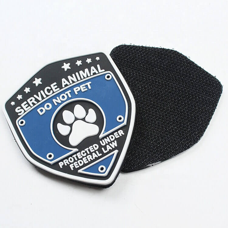 Silicone Logo Clothing Patches