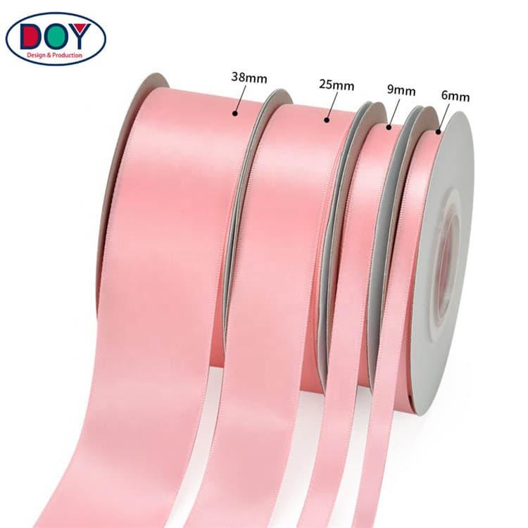 DOYLabel Custom Silk Satin Ribbon Size