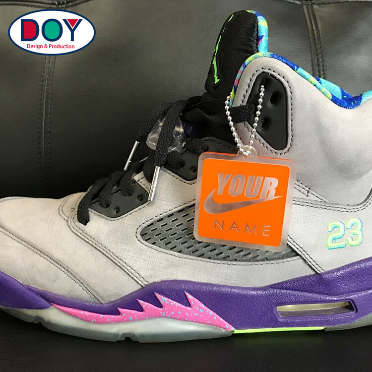 DOYLabel Supplies Custom Logo Sports Shoes Hang Tags