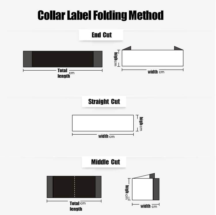 DOYLabel Custom Woven Labels Folded Type
