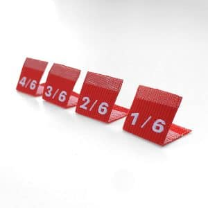 Wholesale Custom Logo Woven Size Labels/Tags for Clothing