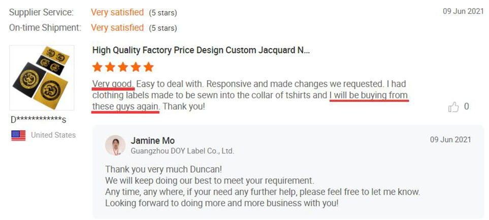 Wholesale Woven Labels Reviews